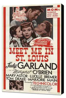 Meet Me in St. Louis - 11 x 17 Movie Poster - Style A - Museum Wrapped Canvas