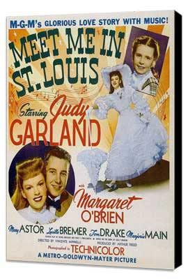 Meet Me in St. Louis - 11 x 17 Movie Poster - Style E - Museum Wrapped Canvas
