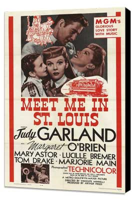 Meet Me in St. Louis - 27 x 40 Movie Poster - Style A - Museum Wrapped Canvas