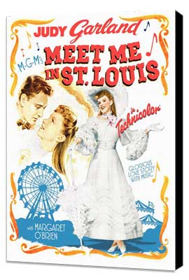 Meet Me in St. Louis - 27 x 40 Movie Poster - Style B - Museum Wrapped Canvas
