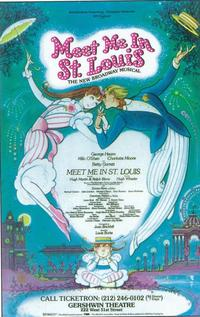 Meet Me In St.Louis (Broadway) - 11 x 17 Poster - Style A