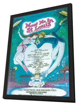 Meet Me In St.Louis (Broadway) - 11 x 17 Poster - Style A - in Deluxe Wood Frame