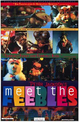 Meet the Feebles - 11 x 17 Movie Poster - Style A