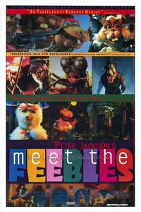 Meet the Feebles - 43 x 62 Movie Poster - Bus Shelter Style A