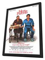 Meet the Parents - 11 x 17 Movie Poster - Style B - in Deluxe Wood Frame