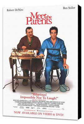 Meet the Parents - 11 x 17 Movie Poster - Style B - Museum Wrapped Canvas