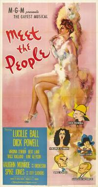 Meet the People - 27 x 40 Movie Poster - Style A