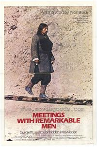 Meetings With Remarkable Men - 43 x 62 Movie Poster - Bus Shelter Style A
