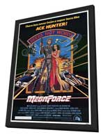 Megaforce - 27 x 40 Movie Poster - Style A - in Deluxe Wood Frame