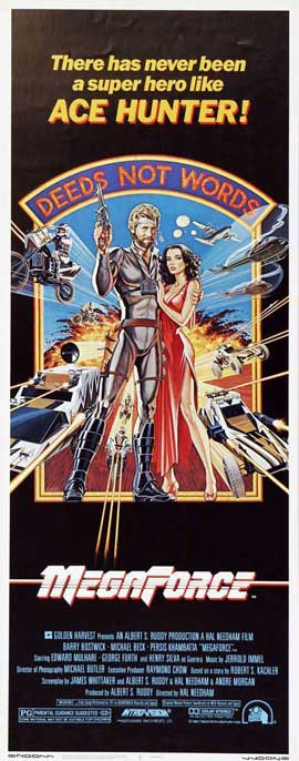 Megaforce - 27 x 40 Movie Poster