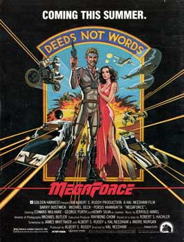 Megaforce - 27 x 40 Movie Poster - Style C