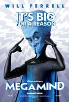 Megamind - 11 x 17 Movie Poster - Style B