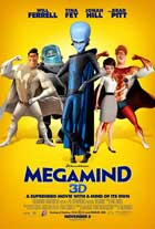 Megamind - 11 x 17 Movie Poster - Style J