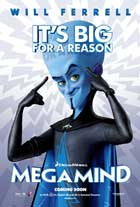 Megamind - DS 1 Sheet Movie Poster - Style A