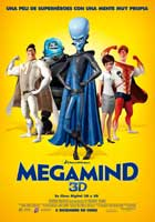 Megamind - 27 x 40 Movie Poster - Belgian Style B