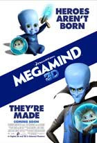 Megamind - 27 x 40 Movie Poster - Style D