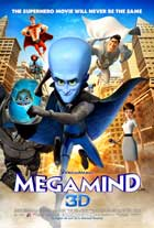 Megamind - 27 x 40 Movie Poster - Style F