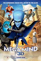 Megamind - 11 x 17 Movie Poster - UK Style A