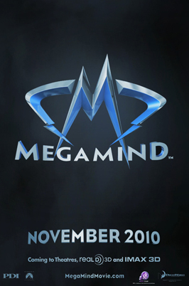 Megamind - 11 x 17 Movie Poster - Style A