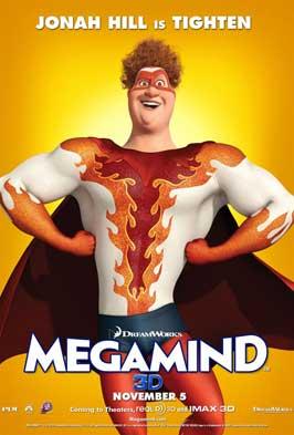 Megamind - 11 x 17 Movie Poster - Style I