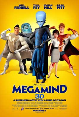 Megamind - DS 1 Sheet Movie Poster - Style C