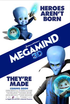 Megamind - 11 x 17 Movie Poster - Style L