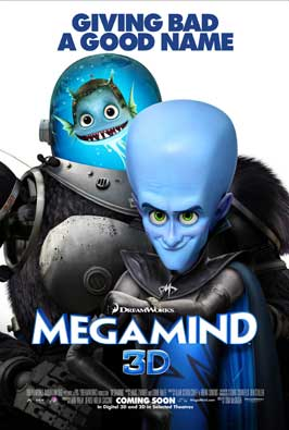 Megamind - 11 x 17 Movie Poster - Style K