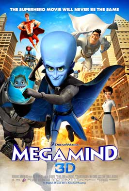Megamind - 11 x 17 Movie Poster - Style N