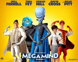 Megamind - 11 x 14 Movie Poster - Style C