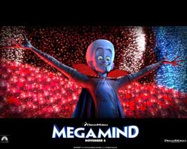 Megamind - 11 x 14 Movie Poster - Style E