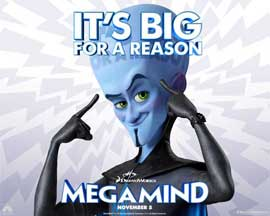 Megamind - 11 x 14 Movie Poster - Style K