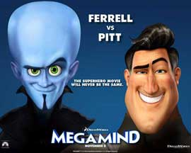 Megamind - 11 x 14 Movie Poster - Style N