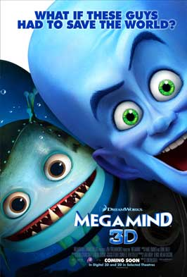 Megamind - 43 x 62 Movie Poster - Bus Shelter Style C