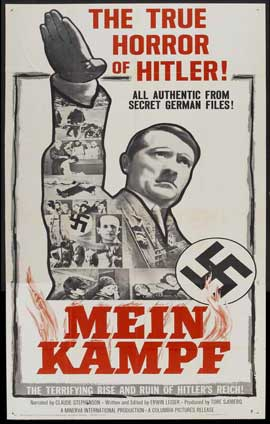 Mein Kampf - 11 x 17 Movie Poster - Style B