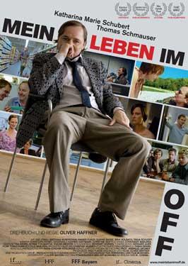 Mein Leben im Off - 27 x 40 Movie Poster - German Style A