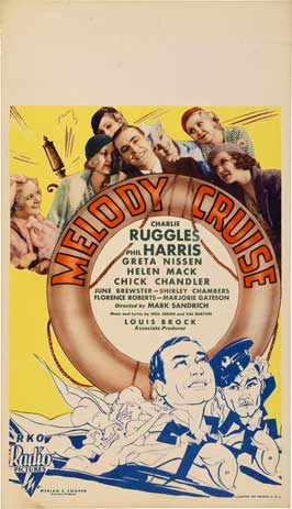 Melody Cruise - 20 x 40 Movie Poster - Style A