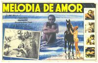 Melody in Love - 27 x 40 Movie Poster - Spanish Style A