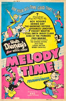 Melody Time - 27 x 40 Movie Poster - Style C