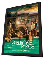 Melrose Place (TV) - 11 x 17 TV Poster - Style J - in Deluxe Wood Frame