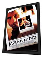 Memento - 27 x 40 Movie Poster - Style A - in Deluxe Wood Frame