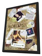 Memento - 27 x 40 Movie Poster - Style B - in Deluxe Wood Frame
