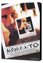 Memento - 11 x 17 Movie Poster - Style A - Museum Wrapped Canvas