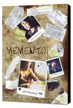 Memento - 11 x 17 Movie Poster - Style B - Museum Wrapped Canvas