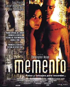 Memento - 11 x 17 Movie Poster - Spanish Style A