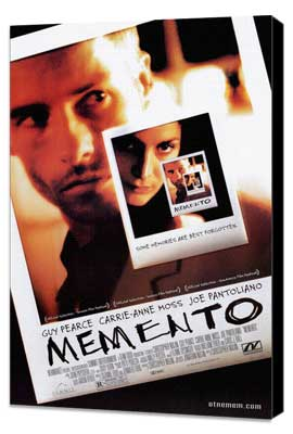 Memento - 27 x 40 Movie Poster - Style A - Museum Wrapped Canvas