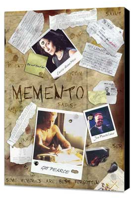 Memento - 27 x 40 Movie Poster - Style B - Museum Wrapped Canvas
