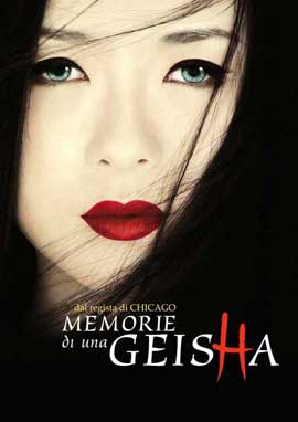 Memoirs of a Geisha - 27 x 40 Movie Poster - Spanish Style A