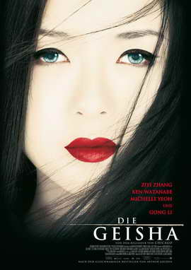 Memoirs of a Geisha - 27 x 40 Movie Poster - German Style A