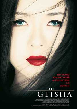 Memoirs of a Geisha - 11 x 17 Movie Poster - German Style A