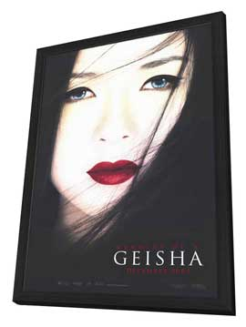 Memoirs of a Geisha - 11 x 17 Movie Poster - Style A - in Deluxe Wood Frame